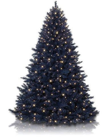 A navy blue tree is the birth month color for September